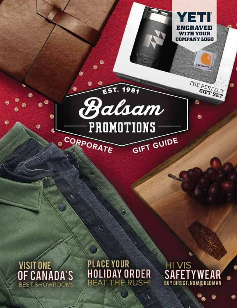 Balsam promotions Corporate Gift Guide
